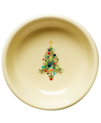 Fiesta Christmas Tree Cereal Bowl