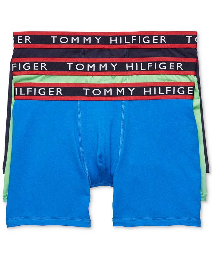 Tommy Hilfiger - Men's Stretch Boxer Briefs 3-Pack