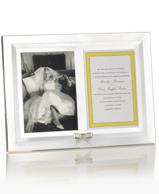 kate spade new york Picture Frame, Grace Avenue Double Invitation Frame