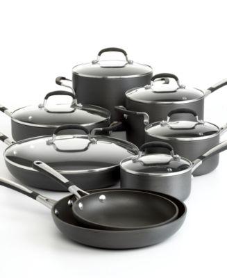 simply calphalon nonstick 14 piece cookware set - Calphalon Cookware Set