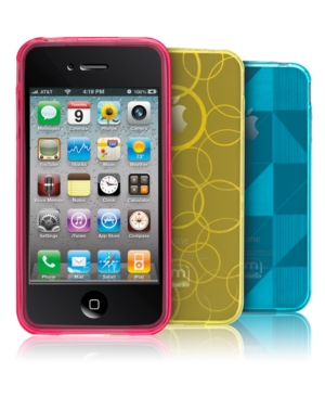 Case-Mate iPhone 4 Case, Gelli Teal Blue Checkmate
