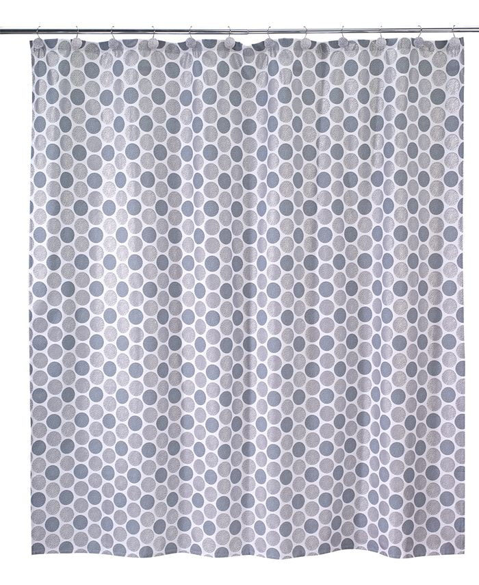 Avanti - Dotted Circle Shower Curtain