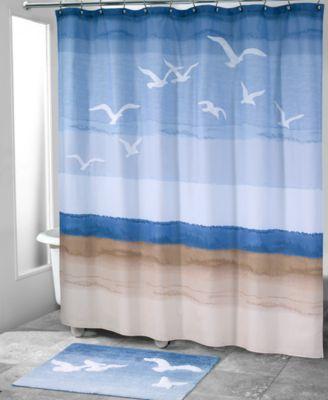 Seagulls 12-Pc. Shower Hook Set