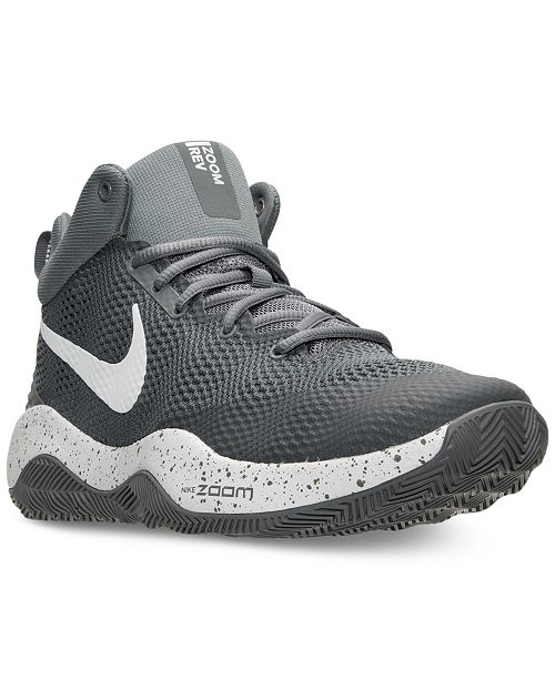 Nike Men's Zoom Rev 2017 Basketball Sneakers from Finish Line & Reviews -  Finish Line Athletic Shoes - Men - Macy's