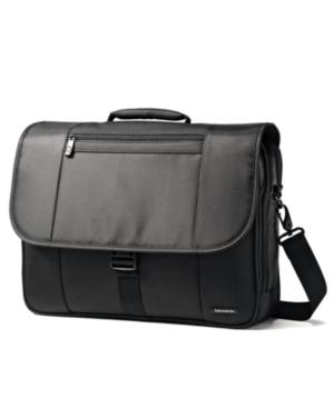 Samsonite Flapover Briefcase, Classic Business Laptop Friendly Case