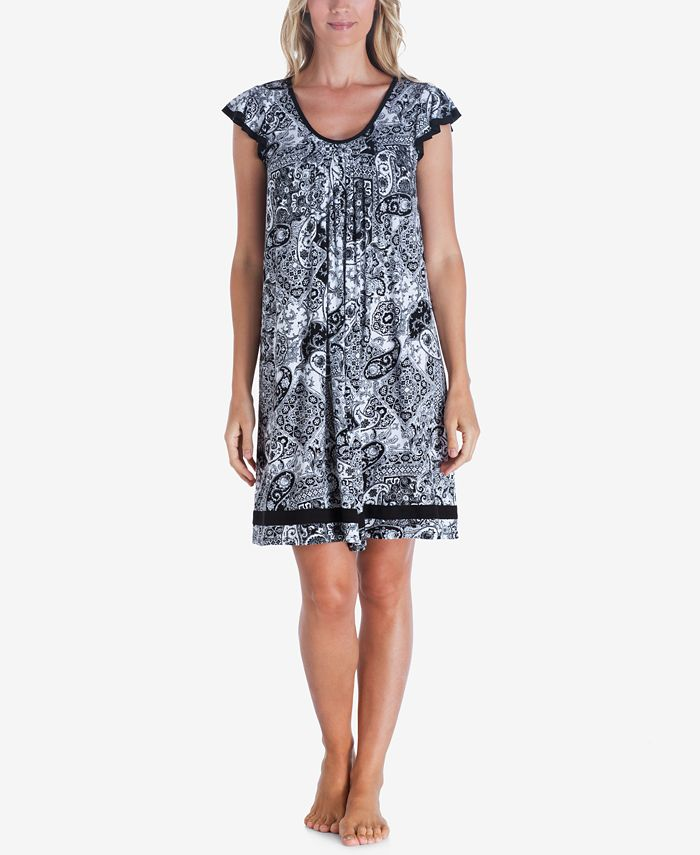 Ellen Tracy - Yours to Love Short Sleeve Nightgown