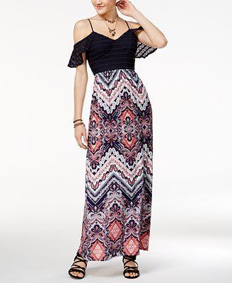 Maxi Dress Maxi Dress - Macy's