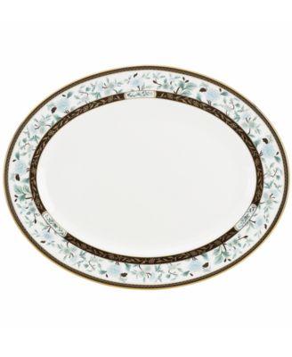 Marchesa by Lenox Dinnerware, Palatial Garden Oval Platter