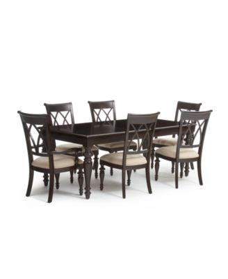 Bradford 7-Piece Dining Room Furniture Set - Furniture - Macy\'s
