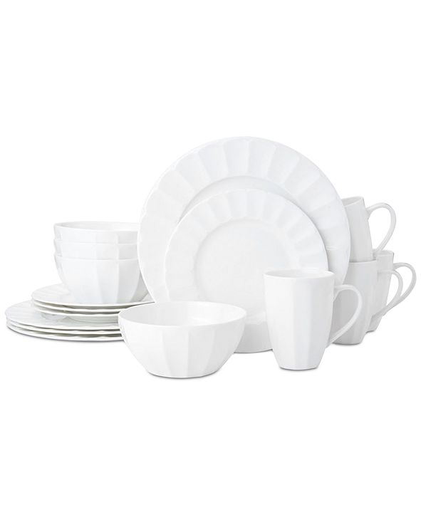 Mikasa Bonaire 16-Piece Dinnerware Set, Service for 4