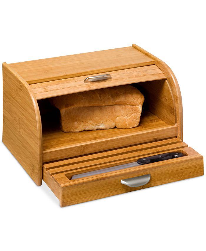 Honey Can Do - Bamboo Bread Box