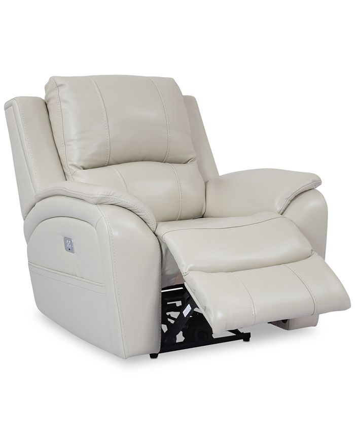 Furniture - Karuse Leather Power Recliner