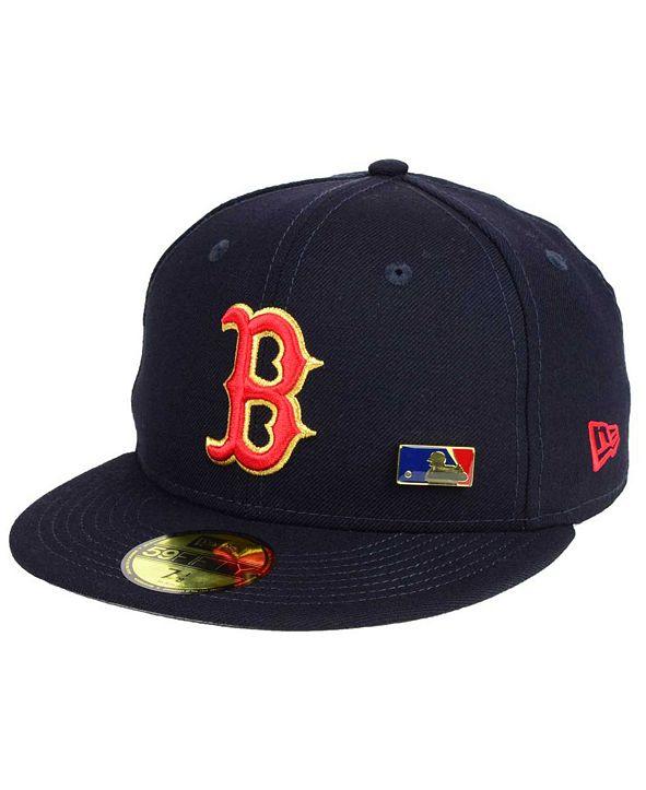 New Era Boston Red Sox Metal Man 59FIFTY Cap