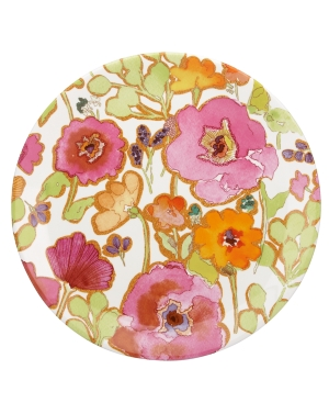 Lenox Dinnerware, Floral Fusion Coupe Round Platter