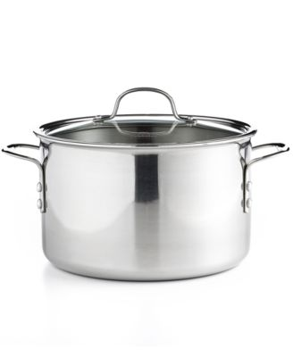 Calphalon Tri-Ply Stainless Steel 8 Qt. Covered Stockpot