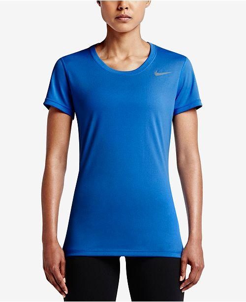 Nike Women's Dry Legend Training T-Shirt & Reviews - Women ...