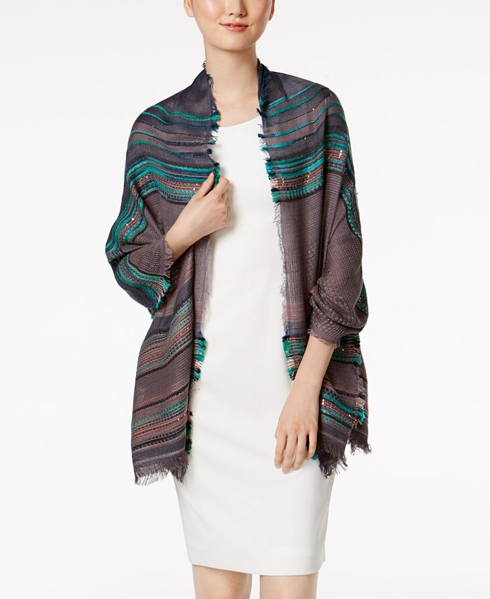 INC International Concepts - Multi Texture Wrap