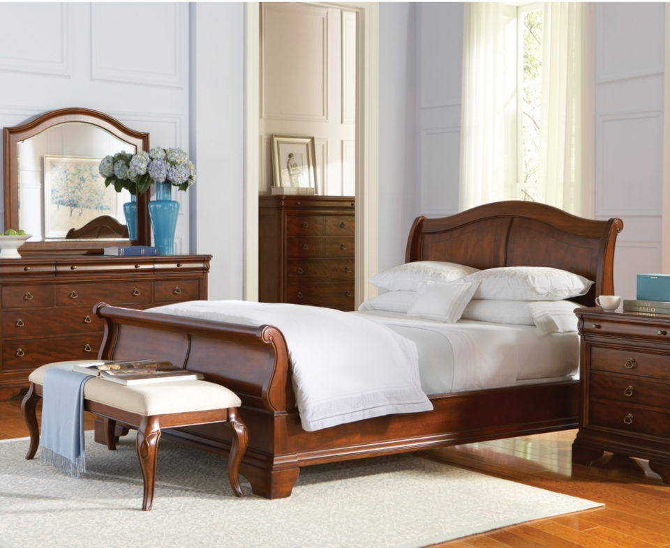Louis Philippe Furniture History Solid Cherry Bedroom