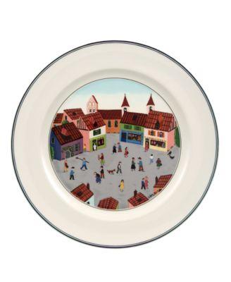 Villeroy & Boch Dinnerware, Design Naif Dinner Plate Old Village Square