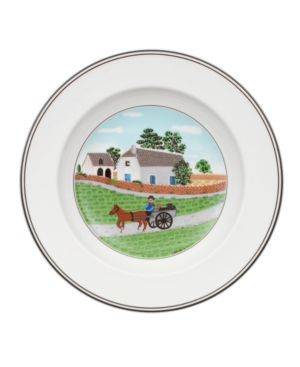 Villeroy & Boch Dinnerware, Design Naif Rim Soup Bowl Going to Market