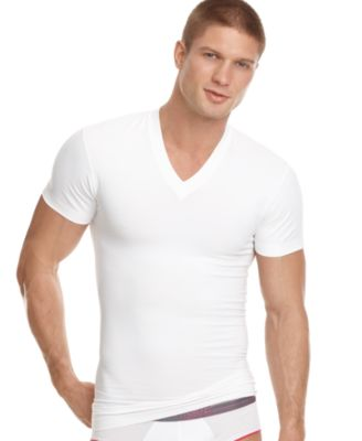 Papi Men's Underwear, Six Pack Body Defining V-neck T shirt ...