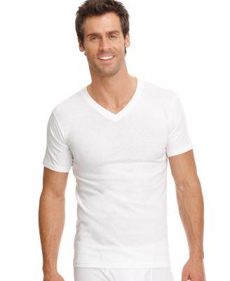 Jockey Men's Tagless Underwear, Stay Cool Crew Neck 2 T Shirts ...