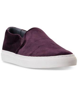 Vaso Velvet Slip-On Casual Sneakers
