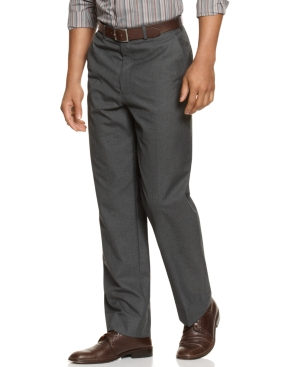 Alfani Pants, Flat Front Dress Pants