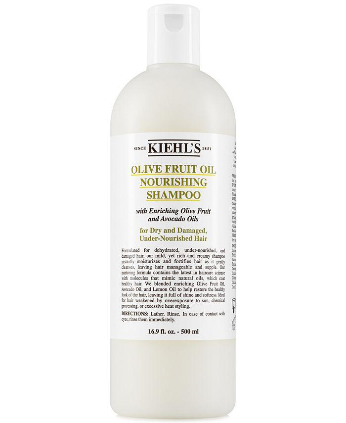 Kiehl's Since 1851 - Olive Fruit Oil Nourishing Shampoo, 16.9-oz.