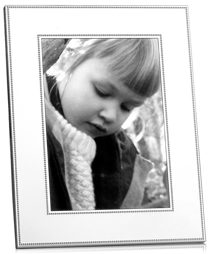 Martha Stewart Collection - Silver Bead Picture Frame