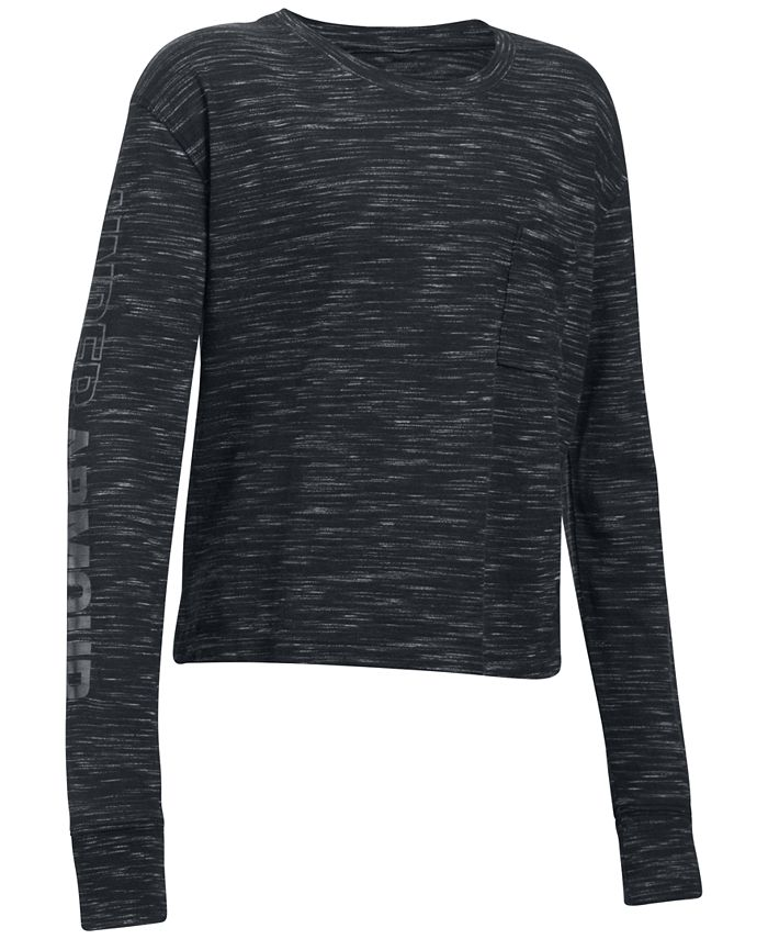 Under Armour - Cropped T-Shirt, Big Girls (7-16)
