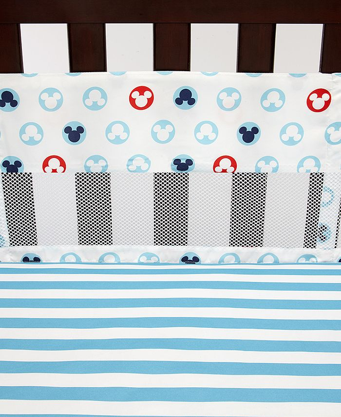 Disney - Mickey Mouse 4-Pc. Crib Liner Set
