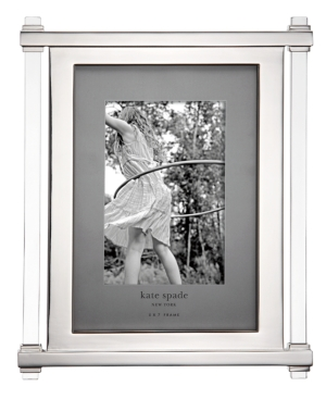 """kate spade new york Picture Frame, Barcelona Drive Clear 5"""" x 7"""""""