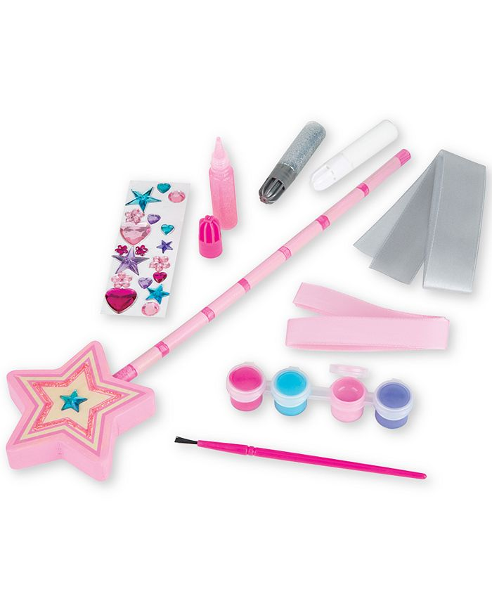 Melissa and Doug - Decorate-Your-Own Wooden Princess Wand