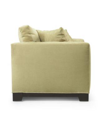 Elliot Fabric Microfiber Sofa