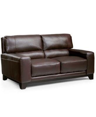 Luke Leather Sofa Luke Leather Furniture Houzz Thesofa