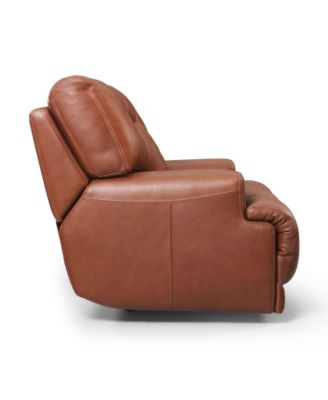 Ricardo Leather Power Recliner Furniture Macy 39 S