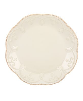 Lenox Dinnerware, French Perle White Accent Plate