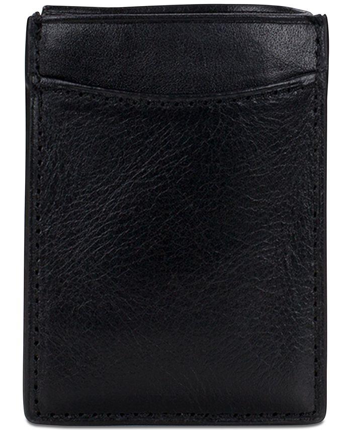Patricia Nash - Men's Leather Money Clip Credit Card Case
