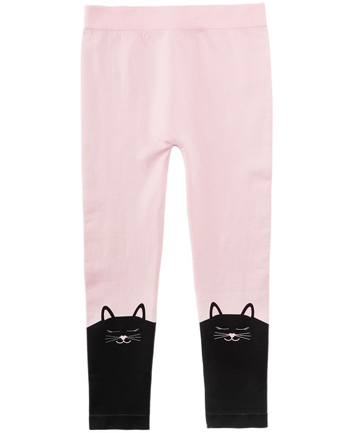 Epic Threads - Cat-Border Sweater Leggings, Toddler Girls (2T-5T) & Little Girls (2-6X)