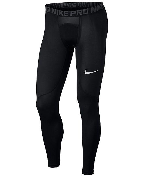 Nike Men's Pro Dri-FIT Compression Leggings & Reviews - All ...