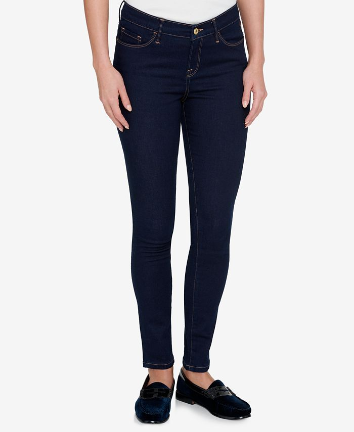 Espinoso cobertura brillante  Tommy Hilfiger TH Flex Skinny Jeans, Created for Macy's & Reviews - Jeans -  Women - Macy's
