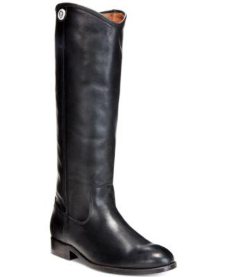 Frye Women's Melissa Button 2 Wide-Calf