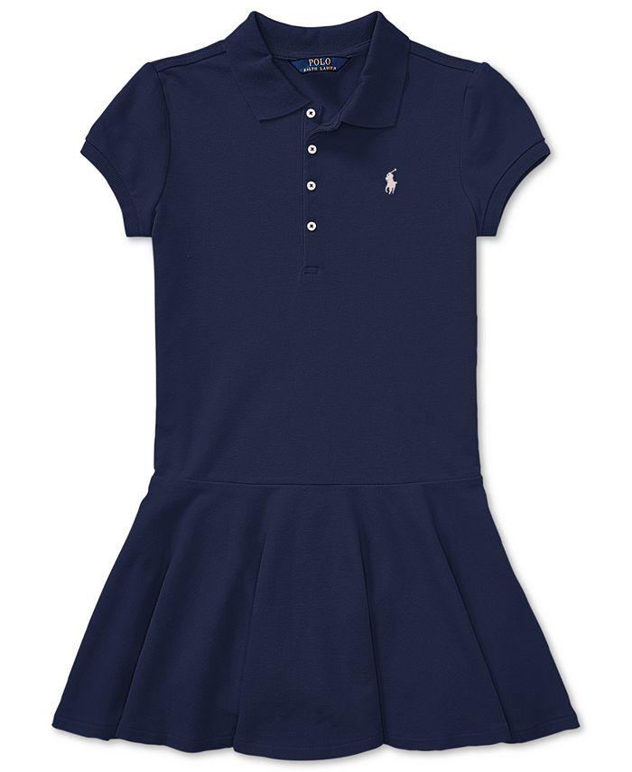 Polo Ralph Lauren - Little Girls' Pleated Polo Dress