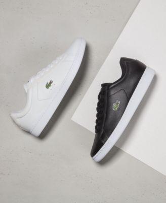 lacoste mens white sneakers