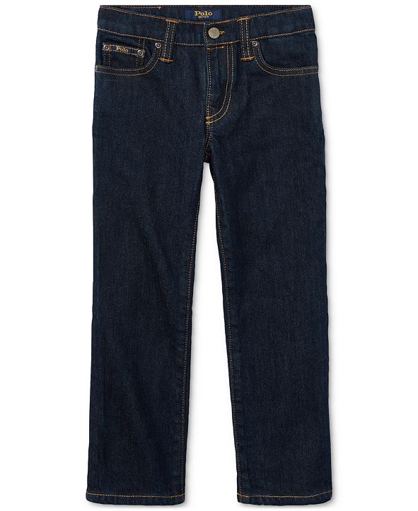Polo Ralph Lauren Toddler Boys Hampton Straight Stretch Jeans