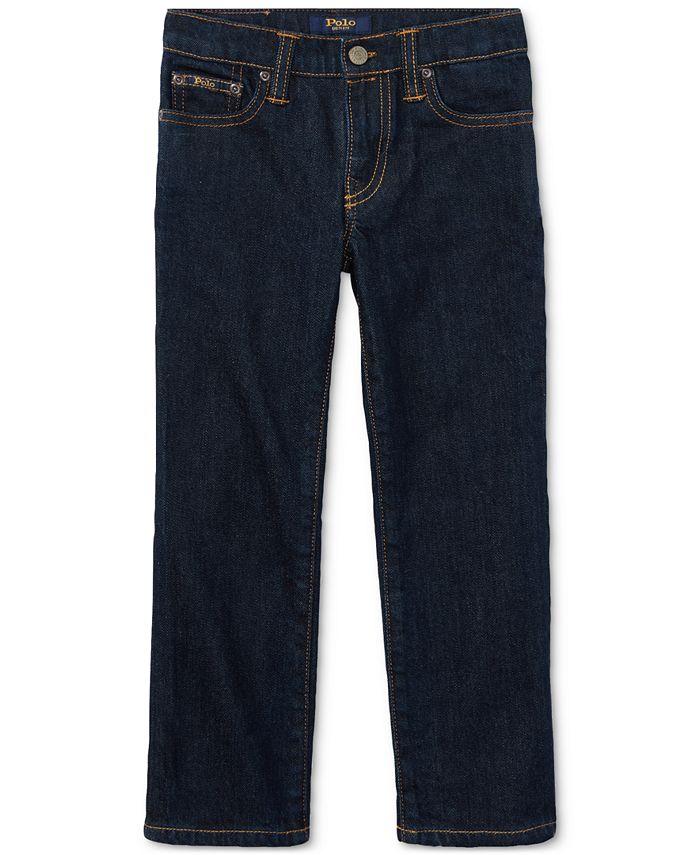 Polo Ralph Lauren - Little Boys Hampton Straight Stretch Jeans