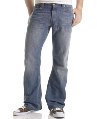 Levi's Men's 527 Slim Bootcut Fit Indie Blue Wash Jeans - Jeans ...