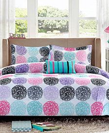 Mi Zone Carly 4-Pc. Full/Queen Reversible Comforter Set