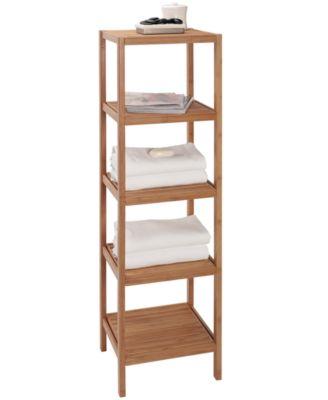 Creative Bath 5 Shelf Tower Organization. Creative Bath Organization  L  39 Etagere 4 Shelf Storage Tower
